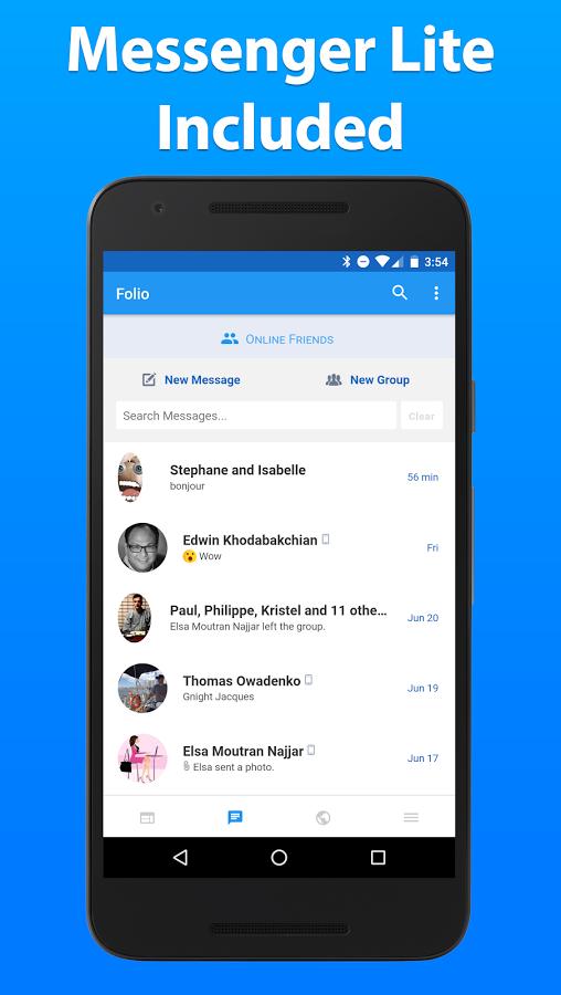 Messenger incluso