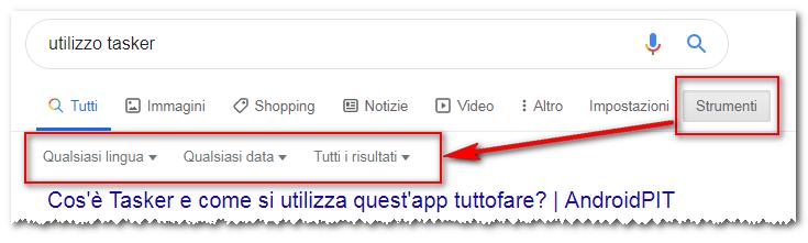 Google Data aggancio