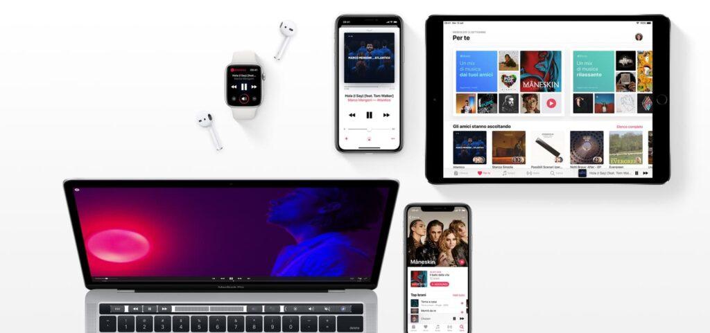 Prodotti Apple Music